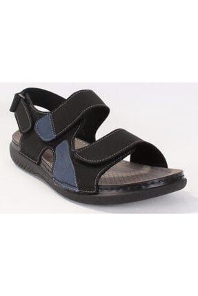 Polaris 160254.M Siyah Erkek Sandalet 100501000