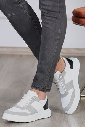 Madmext Erkek Beyaz Sneaker Ms037