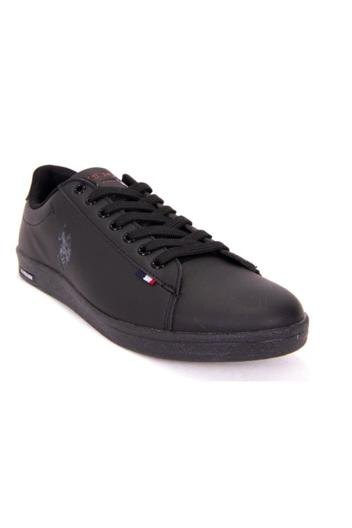 U.S POLO FRANCO DHM Siyah Kadın Sneaker Ayakkabı 100548977 1
