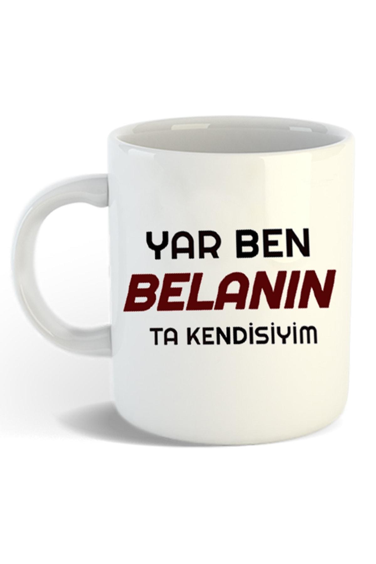 Hediyexpres Azer Bülbül Tasarımlı Beyaz Kupa Bardak 2