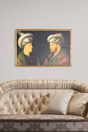 bluecape Fatih Sultan Mehmet Antik Limra Taş Özel Baskı Duvar Salon Mutfak Ofis Yatak Odası Tablo