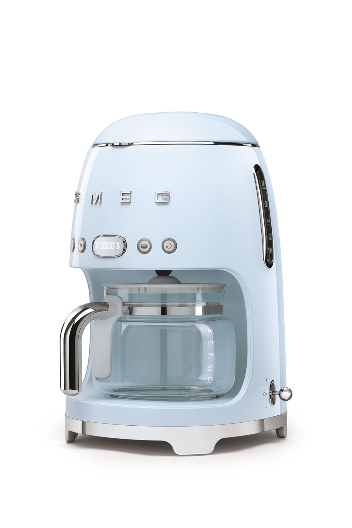 SMEG Pastel Mavi Kahve Makinesi 50's Style Dcf02pbeu 2
