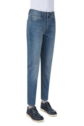 D'S Damat Damat Slim Fit İndigo Denim Pantolon