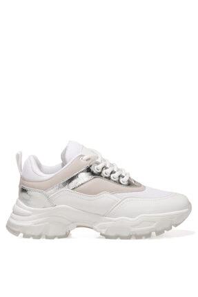 Nine West LISSOU 1FX Beyaz Kadın Sneaker 101028946
