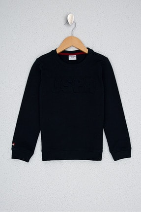 U.S. Polo Assn. Lacivert Erkek Çocuk Sweatshirt