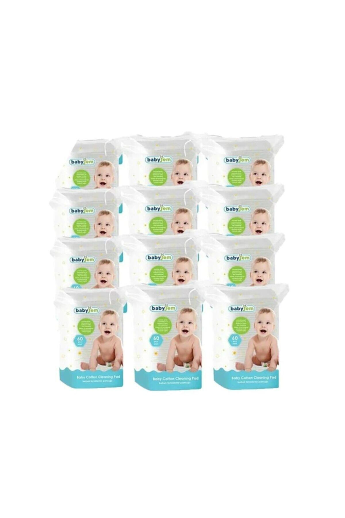 Babyjem Bebek Temizleme Pamuğu 60 Lı * 24 Pkt 2