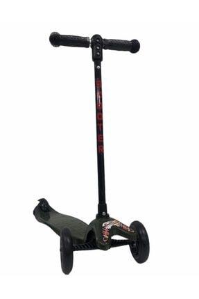 Scooter & Haki 3 Tekerli Yükseklik Ayarlı Haki-sct-1004