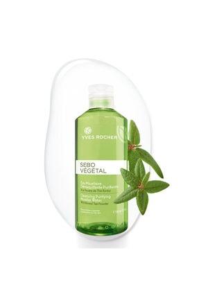 Yves Rocher Sebo Vegetal - Yağ Dengeleyici, Arındırıcı Tonik Etkili Temizleme Suyu 390 ml
