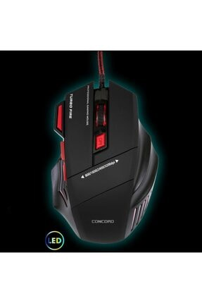 VİPAY 3200dpı Işikli Gaming Mouse Concord A9s
