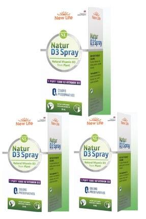 New Life Natur D3 1000 Iu 3 Lü Paket