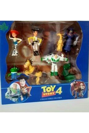 Toy Story 4 Woody Jessie Rex Bullseye Buzz 7 Karekter Oyuncak