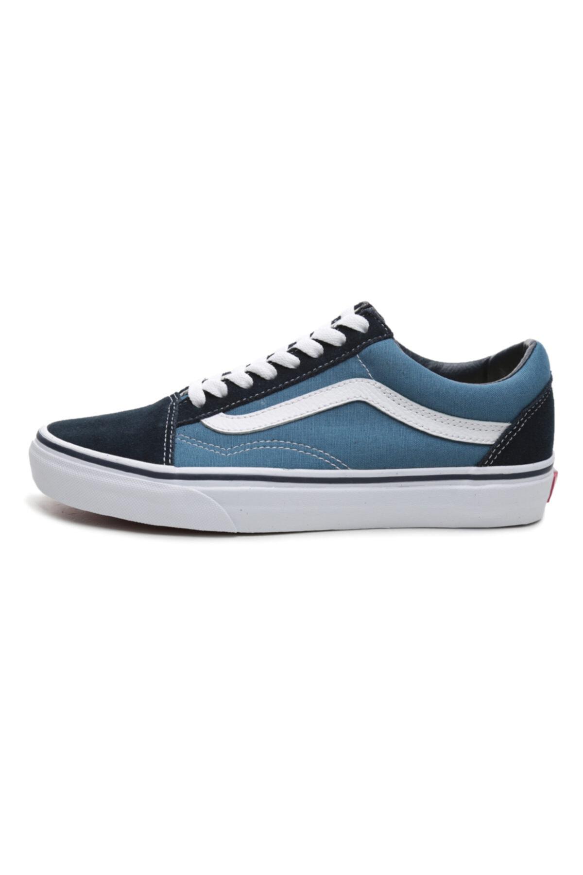 Vans Old Skool Unisex Spor Ayakkabı Mavi 1
