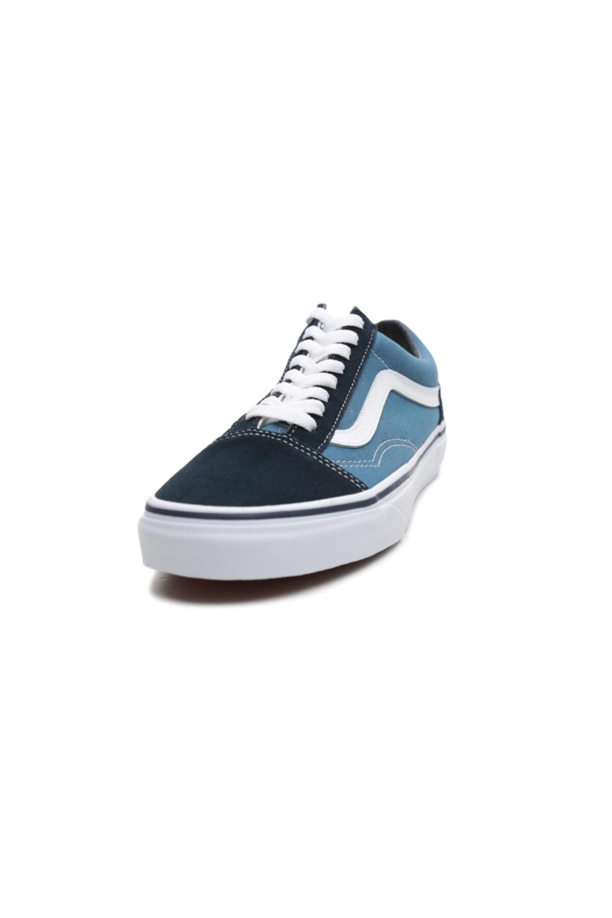 Vans Old Skool Unisex Spor Ayakkabı Mavi 2