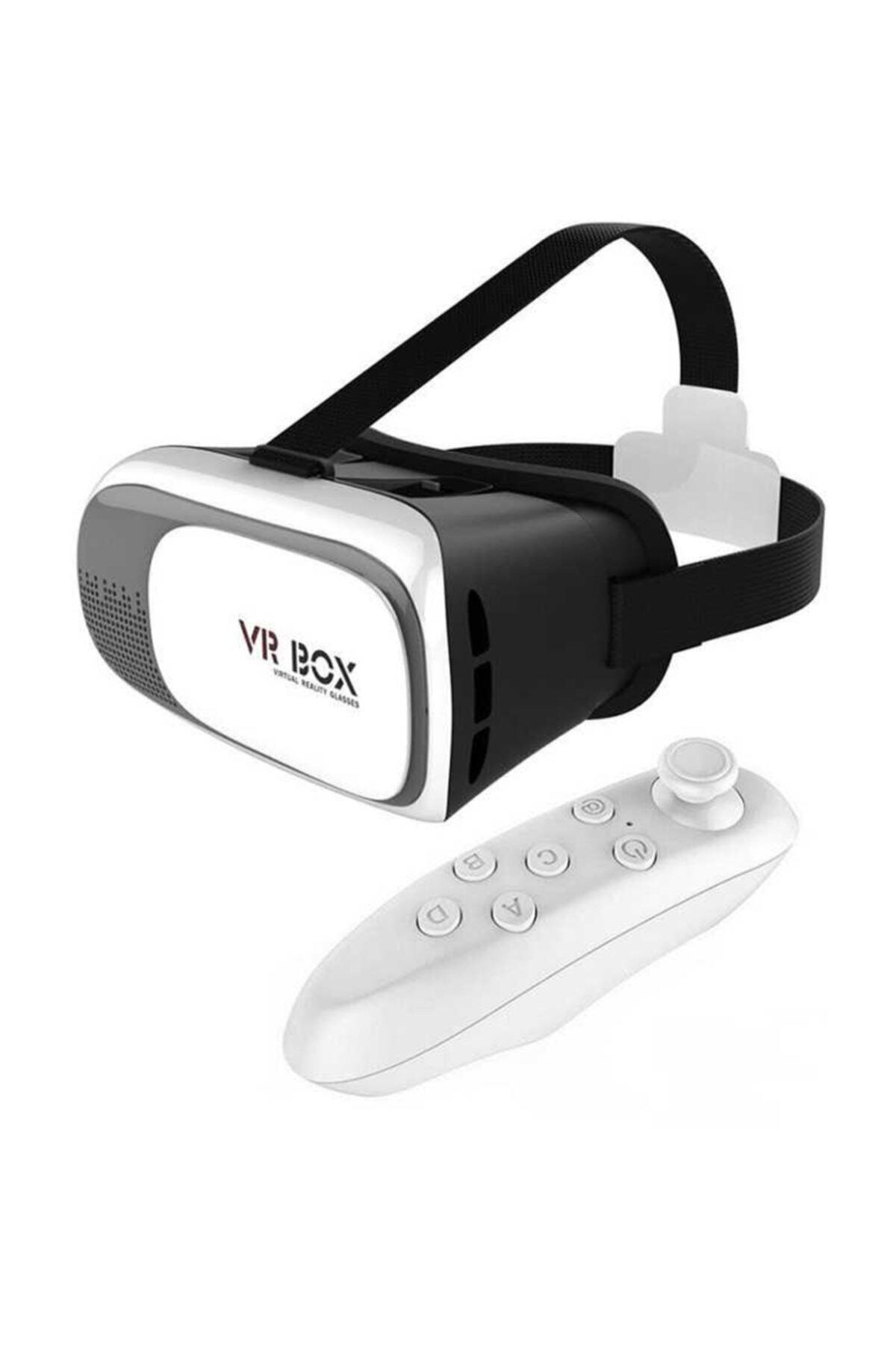 VR BOX 3d Sanal Gerçeklik Gözlüğü Kumandalı 1