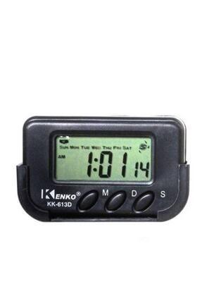 MyBlack Kenko Dijital Küçük Masa Araba Saati Alarm Kronometre