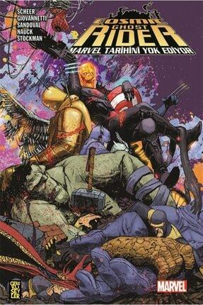 Gerekli Şeyler Yayıncılık Cosmic Ghost RiderMarvel Tarihini Yok Ediyor Paul Scheer 9789757938774