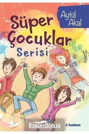 Tudem Yayınları Süper Çocuklar Serisi-4 Kitap Takım