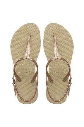 Havaianas Kadın Altın  Sandalet-41447560154356