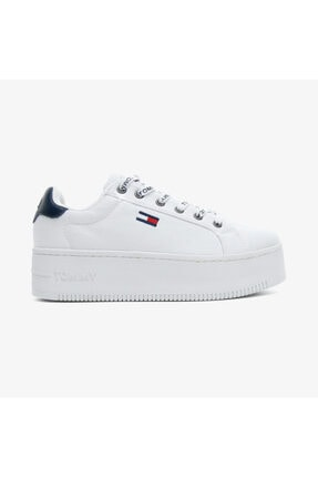 Tommy Hilfiger Kadın Beyaz Spor Ayakkabı