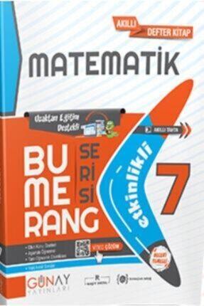 Günay Yayıncılık Günay Yayınları 7. Sınıf Bumerang Matematik Akıllı Defter Lgs Hazırlık