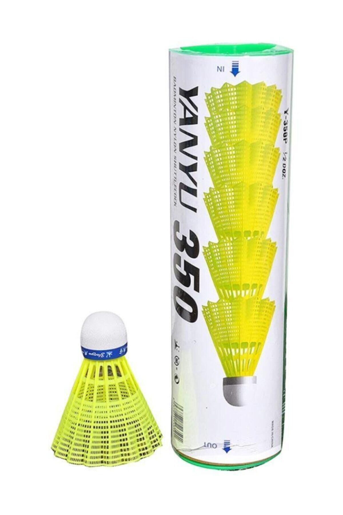 YANYU 6 Lı Badminton Topu Sarı - 350 2