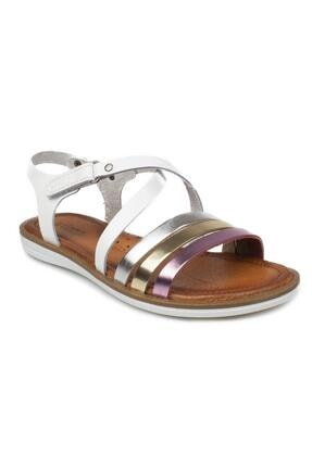 Vicco Kız Çocuk Beyaz Witty Filet Deri Sandalet 905.f21y.068