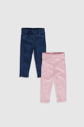 LC Waikiki Kız Bebek Pembe G0G Pantolon