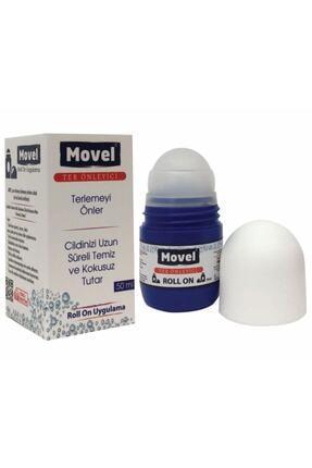 movel Roll On Antiperspirant  Koltık Altı El Ayak Kasık Bölgeleri Ter Önleyici Ter Kokusu Yok Edici 50 ml