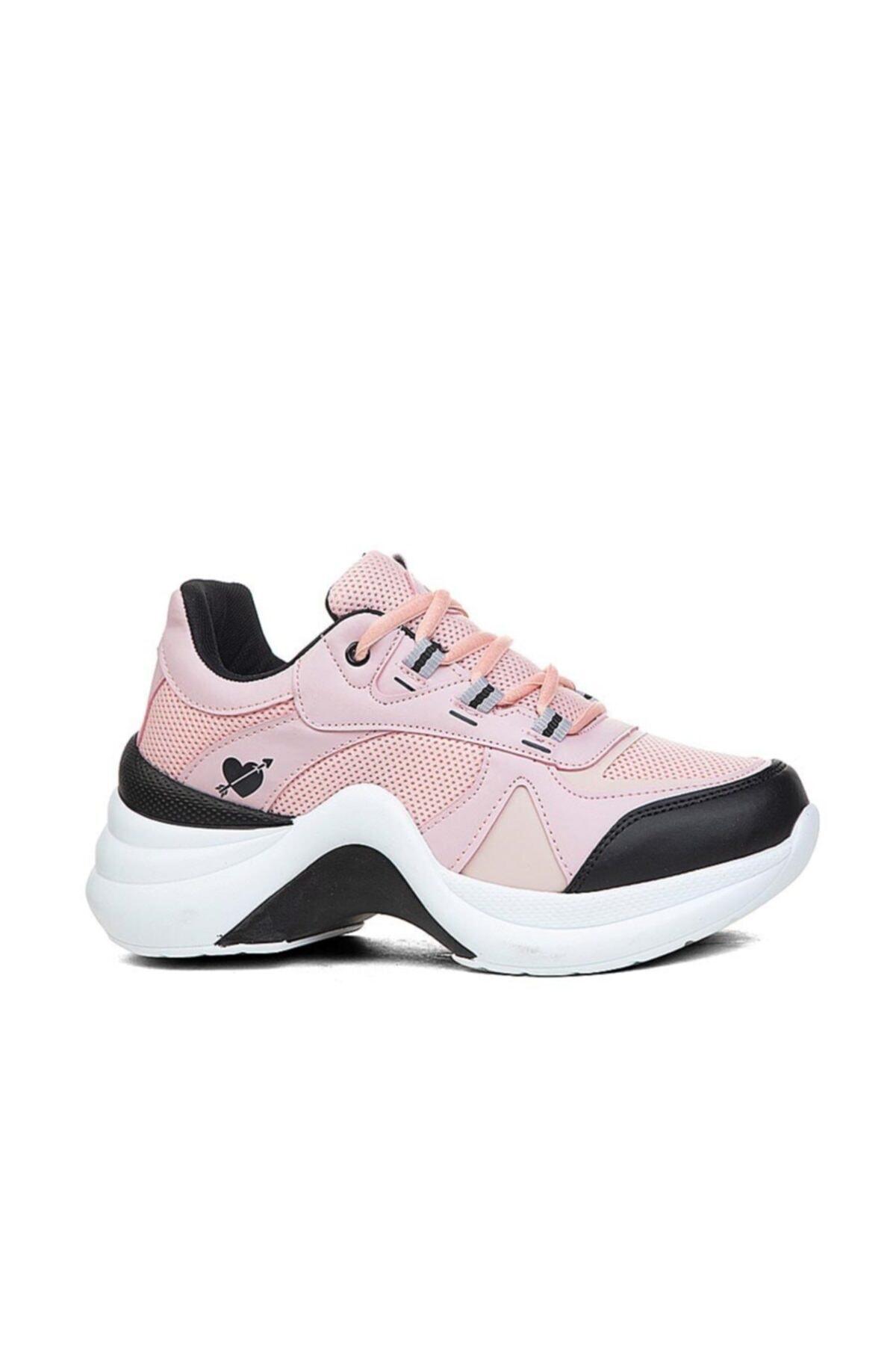 Twingo Kadın Spor Ayakkabı Pudra Sneaker 2