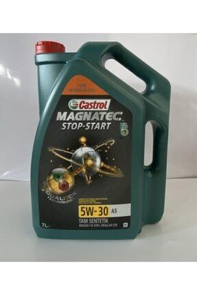 CASTROL Magnatec Stop-start 5w-30 A5 7 Lt 2021 Tarihli Motor Yağı 5w/30 A5