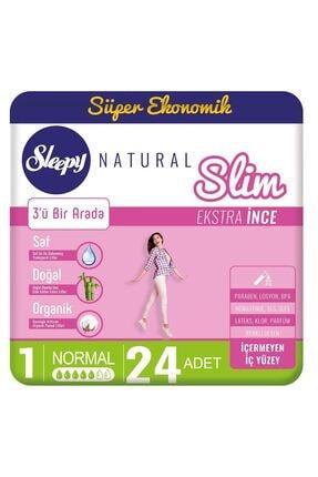 Sleepy Natural Slim Ekstra Ince Normal24 Ped