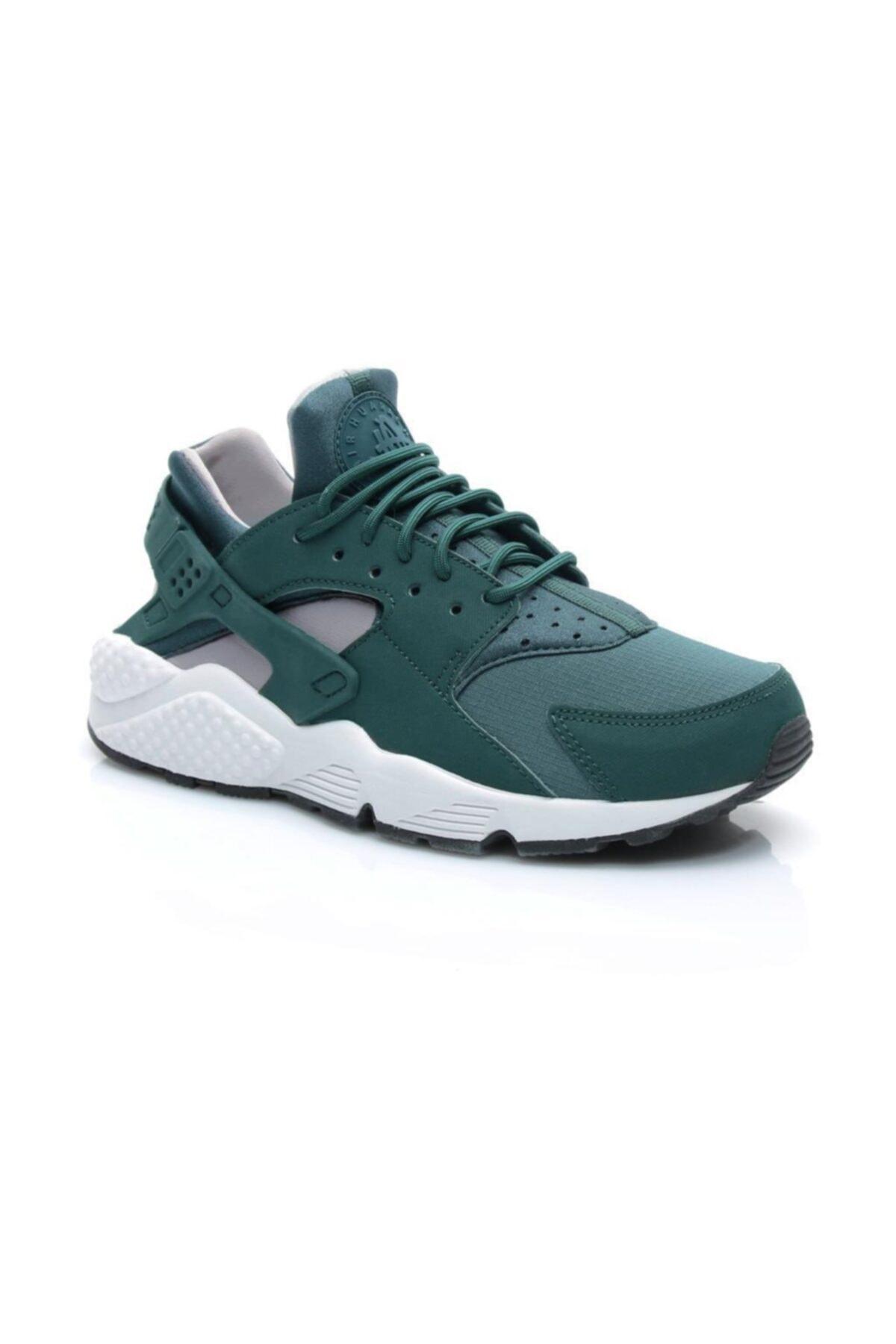 Nike Kadın Yeşil Air Huarache Run Spor Ayakkabı 1