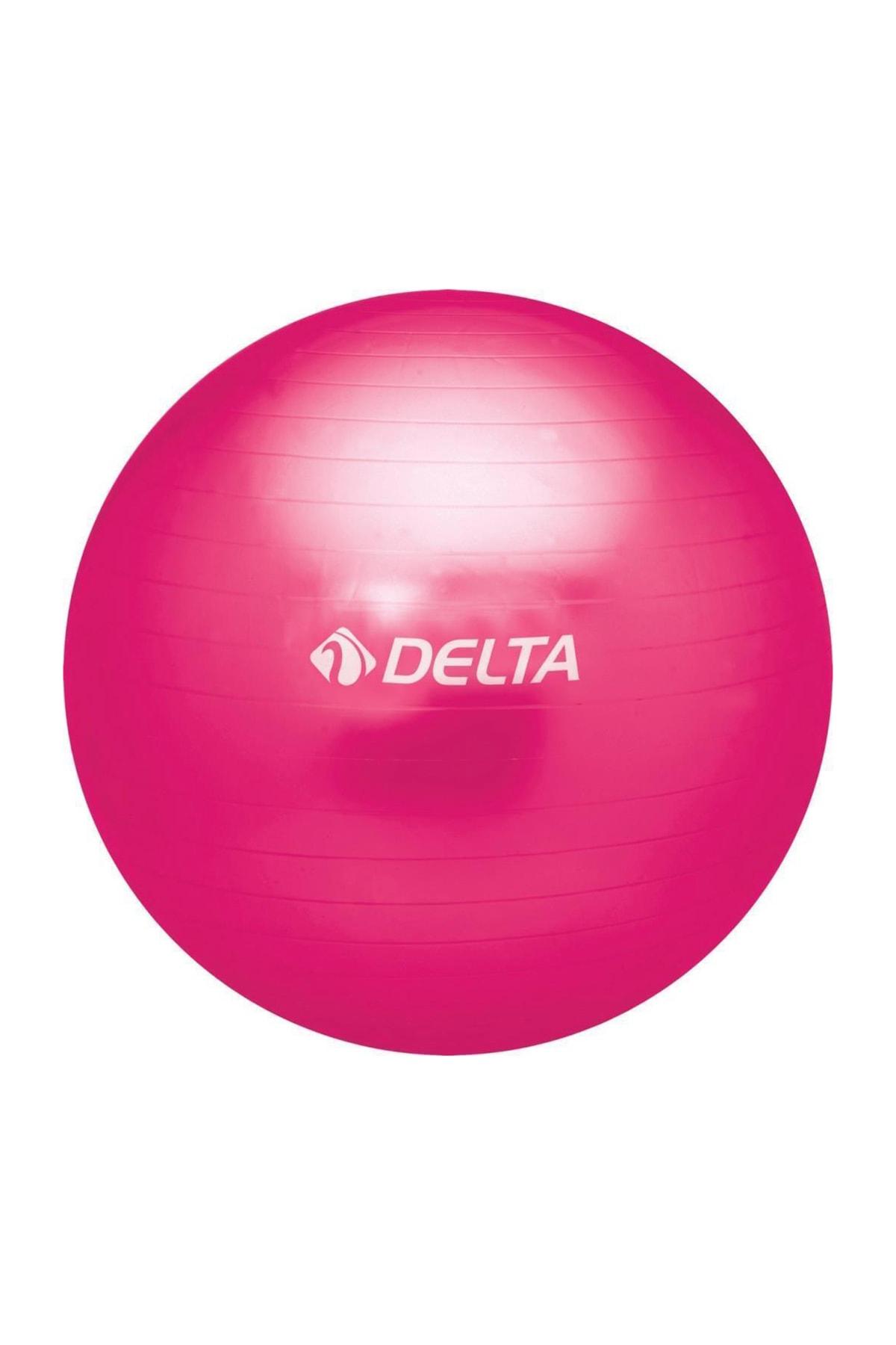 Delta 65 Cm Fuşya Dura-strong Deluxe Pilates Topu