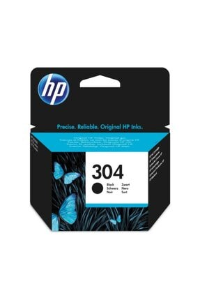 HP 304 Black Siyah Kartuş N9k06ae