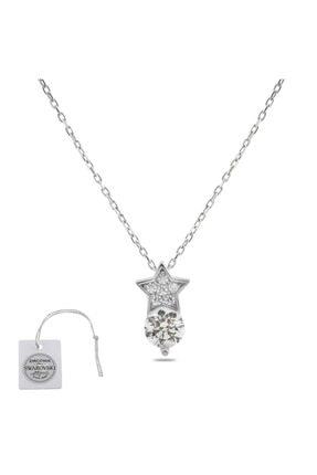 Swarovski Türker Jewelry Swr0027 Zirkonia Taşlı Bayan Kolye