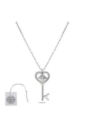 Swarovski Türker Jewelry Swr0023 Zirkonia Taşlı Bayan Kolye