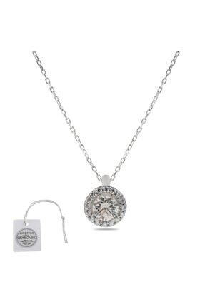 Swarovski Türker Jewelry Swr0019 Zirkonia Taşlı Bayan Kolye