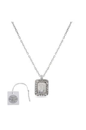 Swarovski Türker Jewelry Swr0032 Zirkonia Taşlı Bayan Kolye