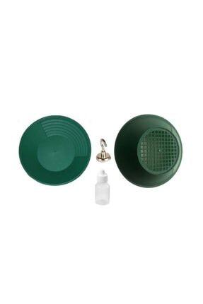 Hdg Gold Pan Altın Eleği Tavası Dev Kit - Gold Pan + Gold Pan Süzgeç + 12mm Kanca Mıknatıs +plastik Şişe