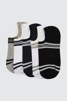 TRENDYOL MAN Çok Renkli Erkek 5'li Paket Çorap TMNSS20CO0040