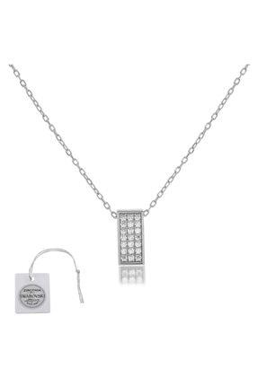 Swarovski Türker Jewelry Swr0072 Zirkonia Taşlı Bayan Kolye
