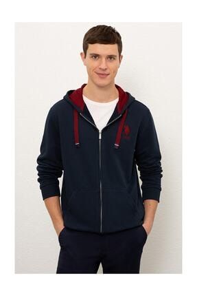 U.S. Polo Assn. Erkek Lacivert Sweatshirt G081sz082.000.1082420