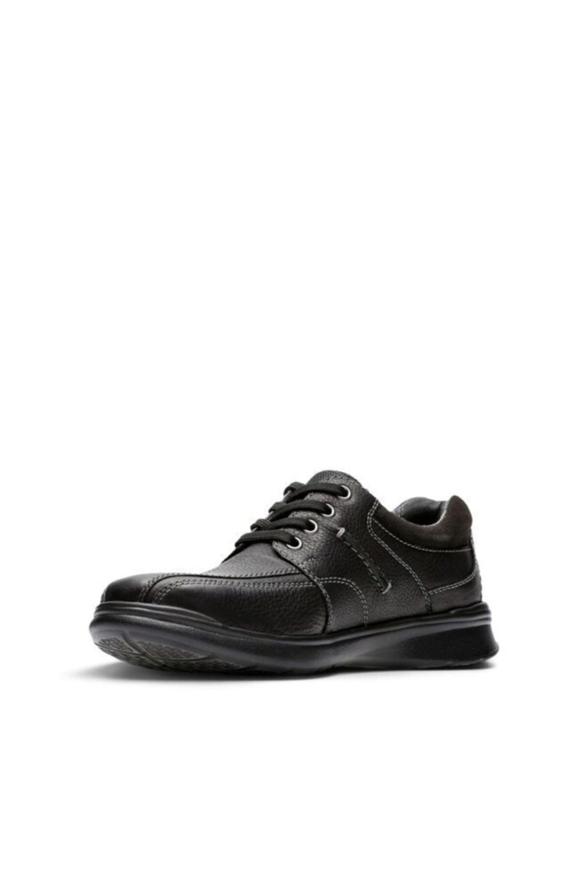CLARKS Erkek Siyah Ayakkabı 2