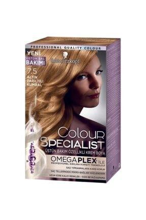 Colour Specialist Saç Boyası 7-5 Altın Pırıltılı Kumral
