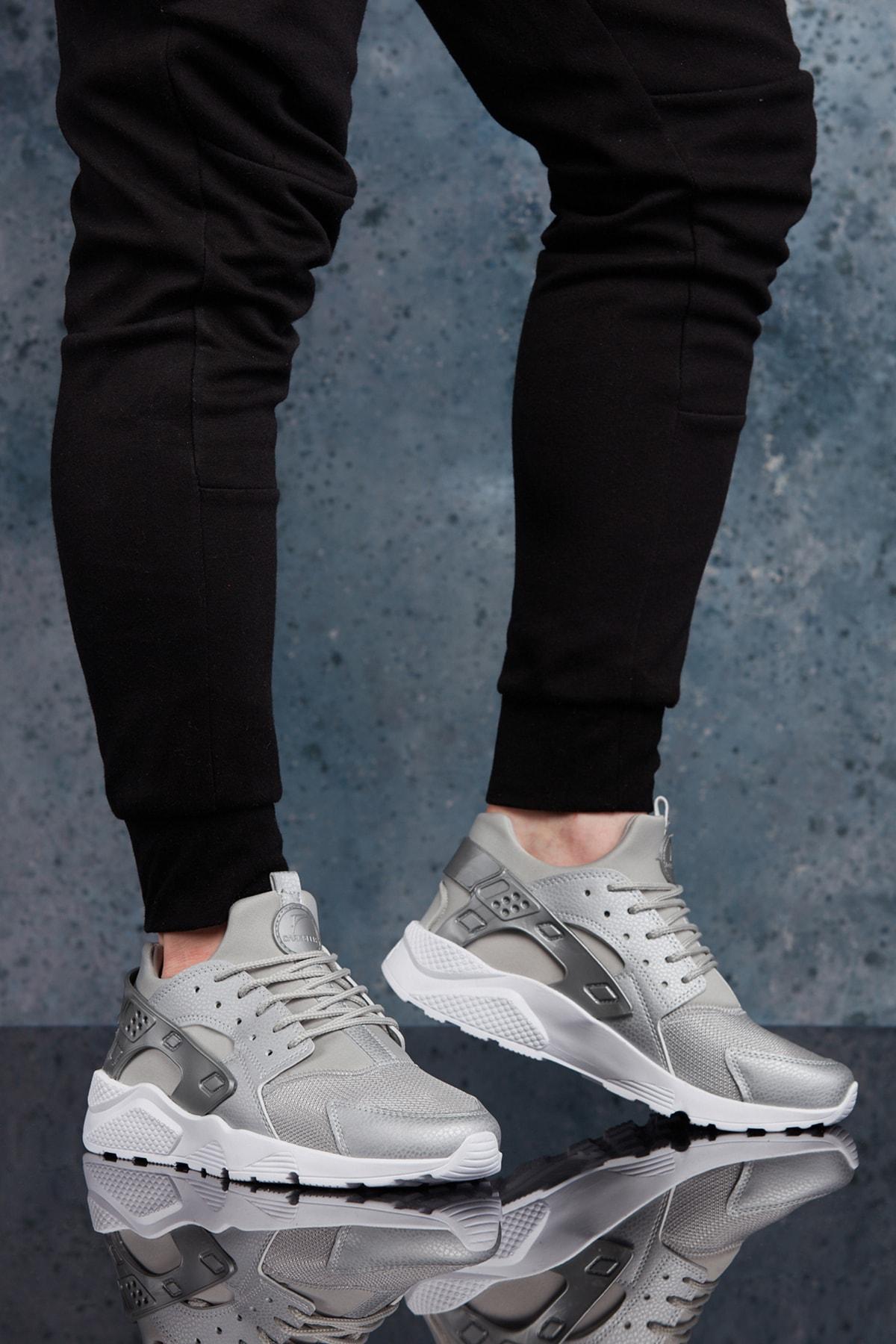 DARK SEER Unisex Gümüş Rengi Sneaker 1
