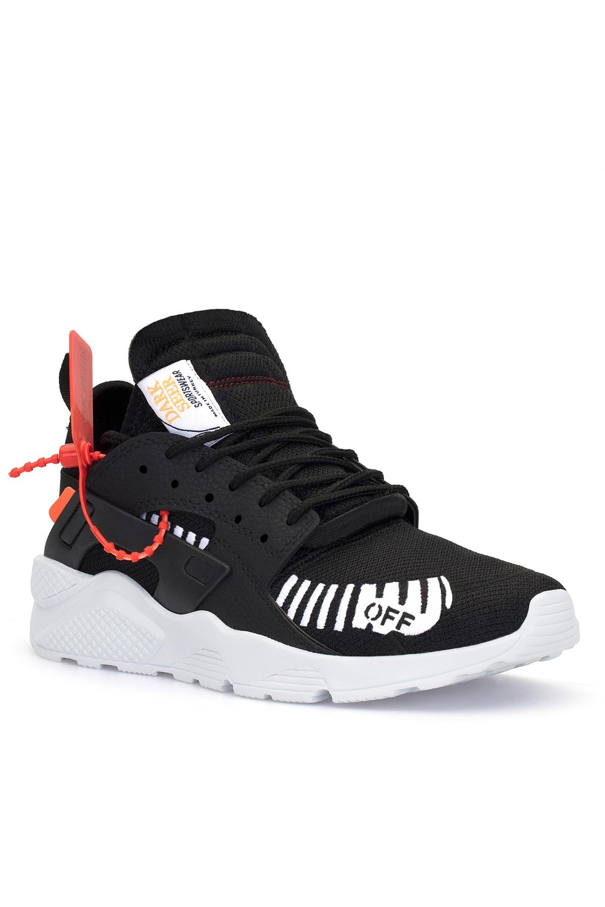 DARK SEER Unisex Siyah Beyaz Sneaker 1