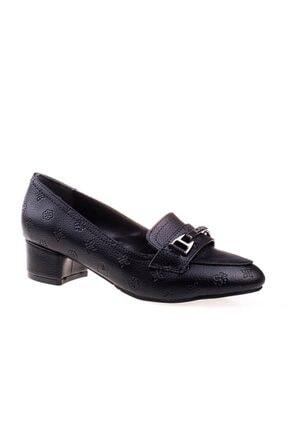 Pierre Cardin Kadın Siyah Klasik Topuklu Ayakkabı