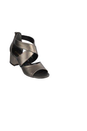 Maje 5045 Platin Kadın Topuklu Ayakkabı