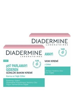 Diadermine Essential Care Parlamayı Gideren Nemlendirici Bakım Kremi X 2 Adet