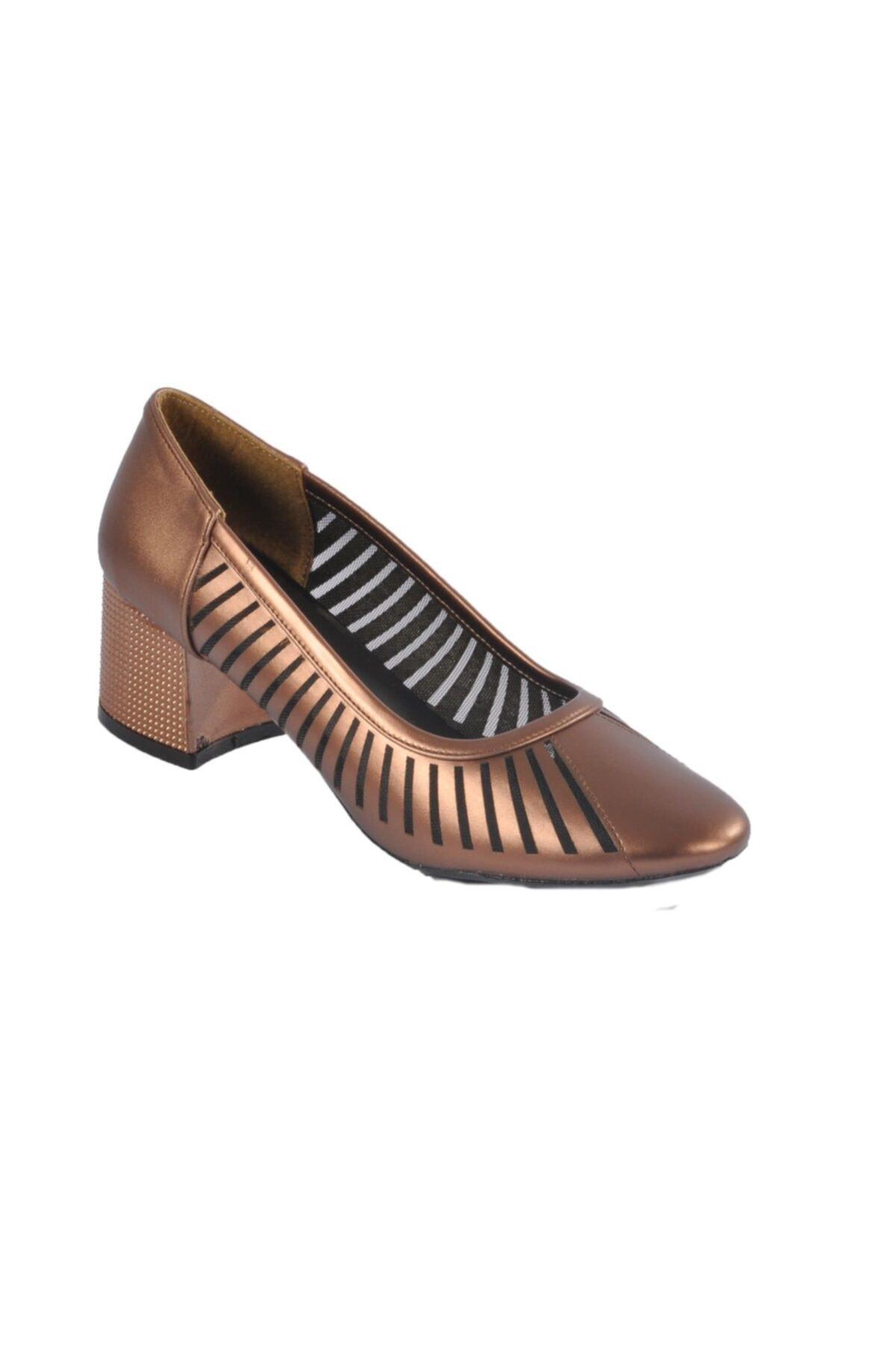 Maje 2127 Bakır Kadın Topuklu Ayakkabı 1